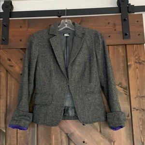 J Crew Wool Blazer Size 0